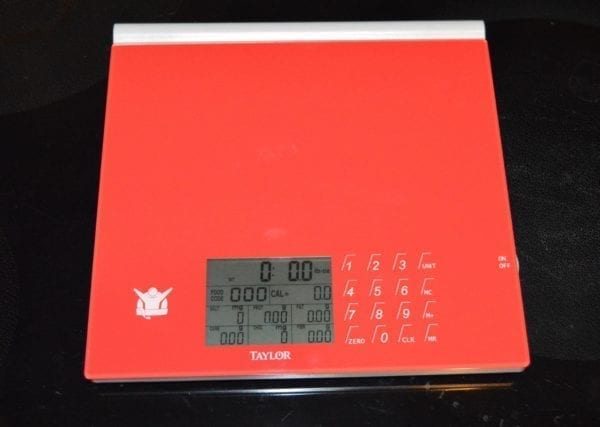Biggest Loser Scale Red empty