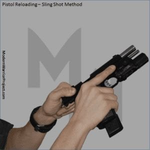 MWP-C51-PRG-Actions-and-Positions-Pistol-Reloading-Sling-Shot-Method-Modern-Warrior-Project-Photo-Reference-Guide