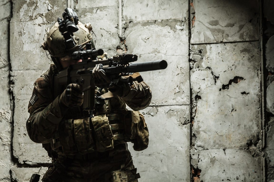Modern-Warrior-Project-Common-Course-Glossary-Tactics-Cover Photo Army Ranger in Uniform