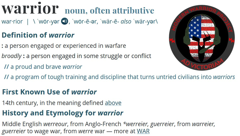 Modern Warrior Project Glossary Tactics Featured Image with Patch_optimize