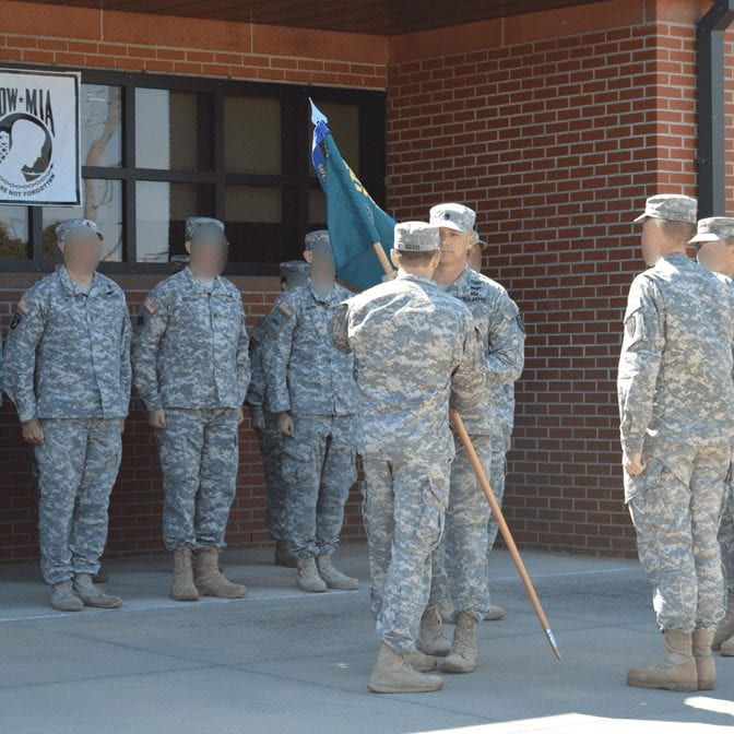 SMWP SERE Change of Command 2015 Blurred founders page photo