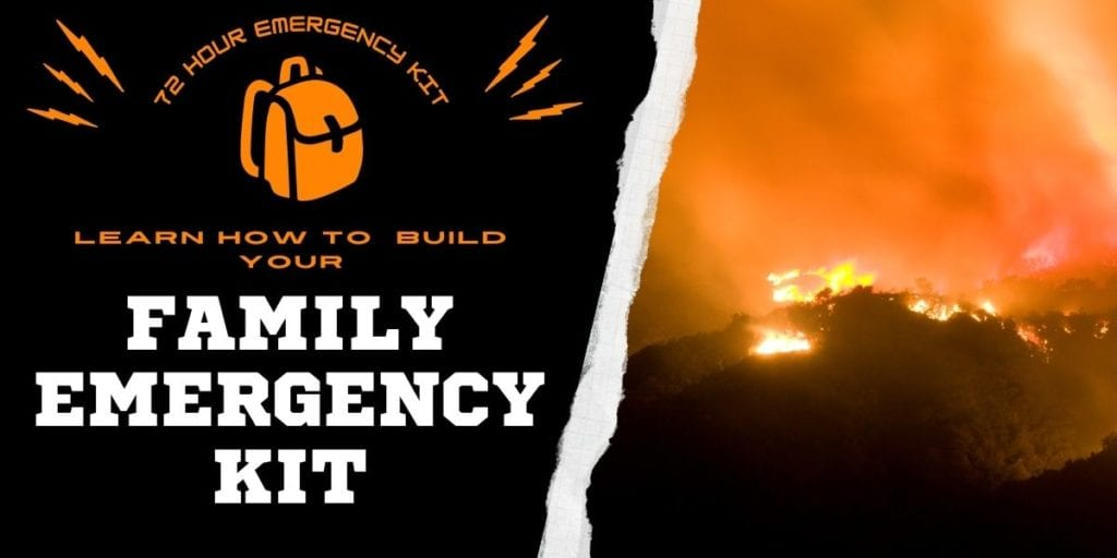 Building A Family 72 Hour Evacuation Kit: Family Bug Out Kit