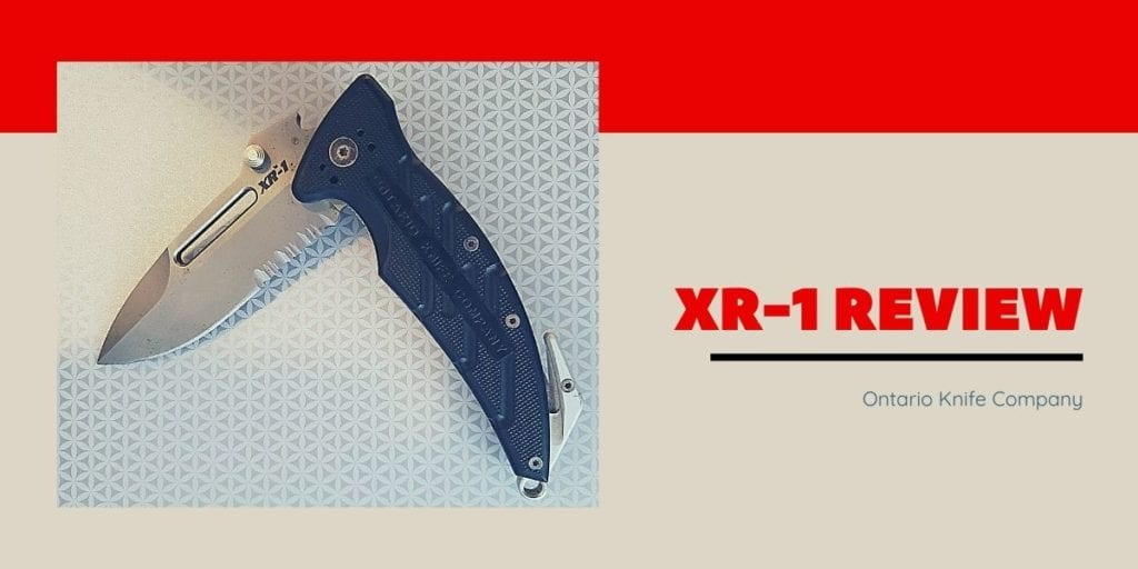 XR-1 Combat Rescue Folder Knife Review