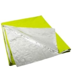 Survival Blanket Safety Green