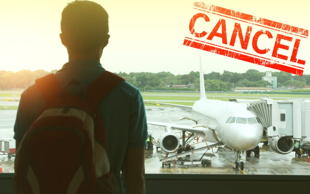 Covid 19 Flight Cancelled
