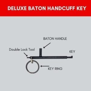 Deluxe Baton Handcuff Key Description Image