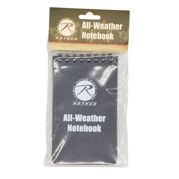 Rothco All Weather Notebook (2)