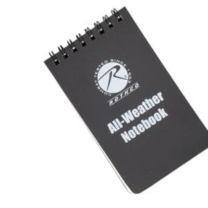 Rothco All Weather Notebook (3)
